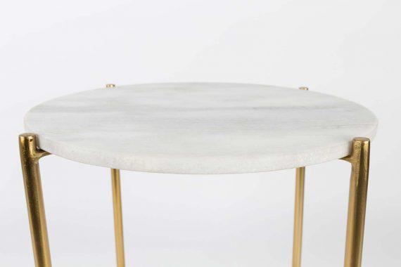 Timpa bijzettafel Marble wit Designshopp 2