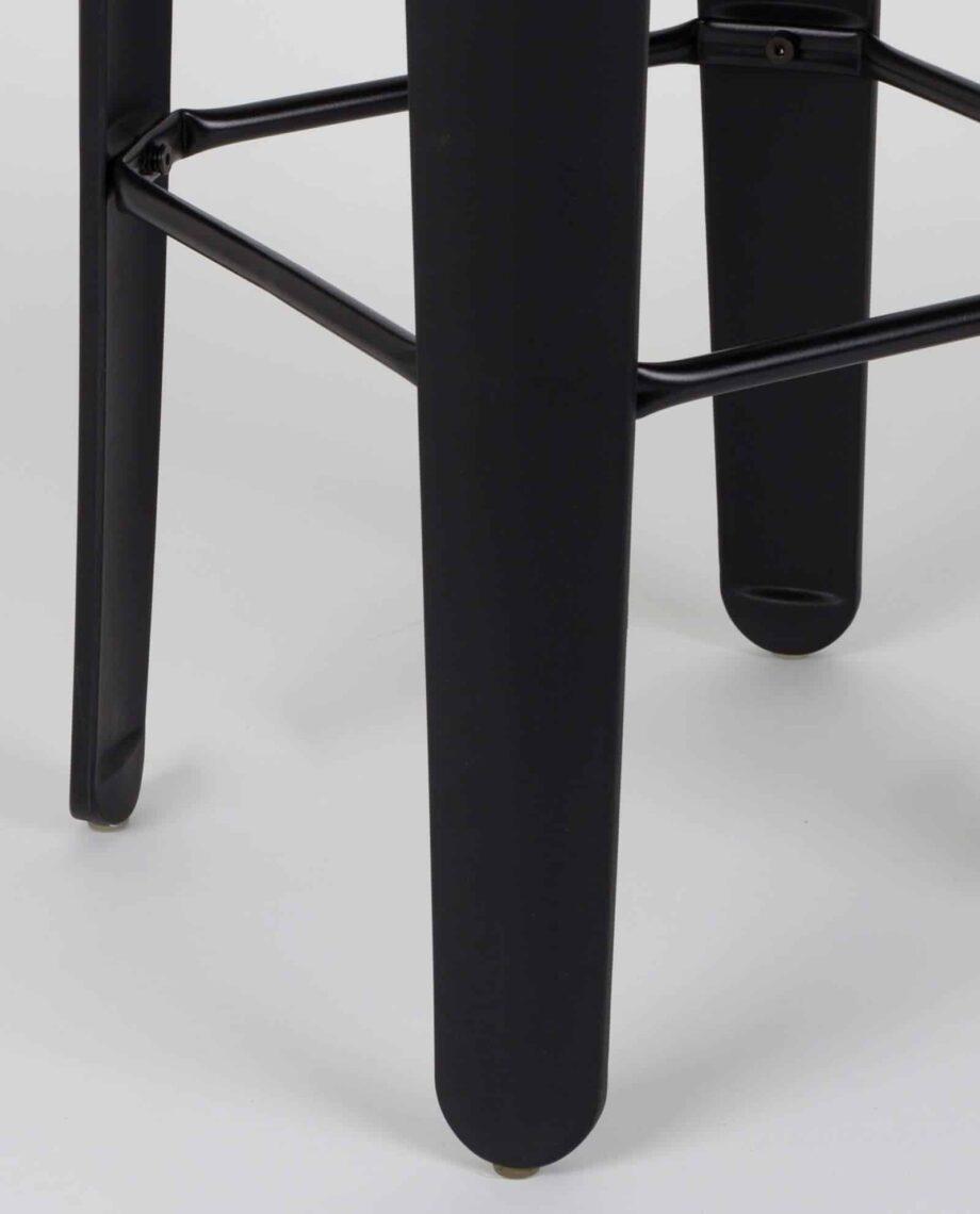 Up High barkruk zwart Designshopp 4