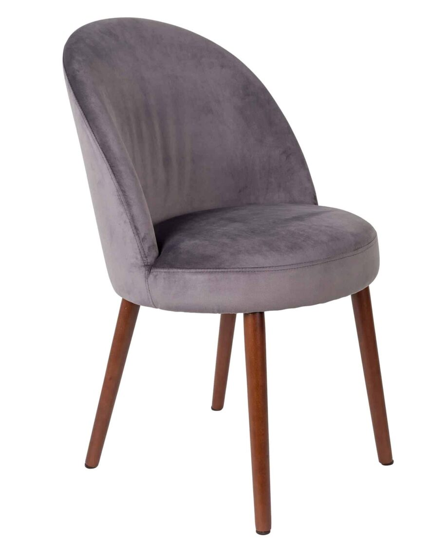 Barbara stoel Dutchbone grijs 1