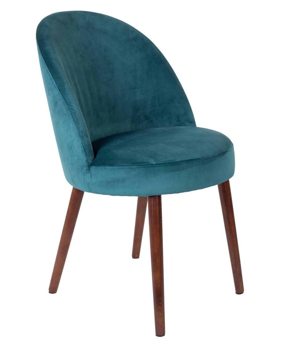 Barbara stoel Dutchbone turquoise 1