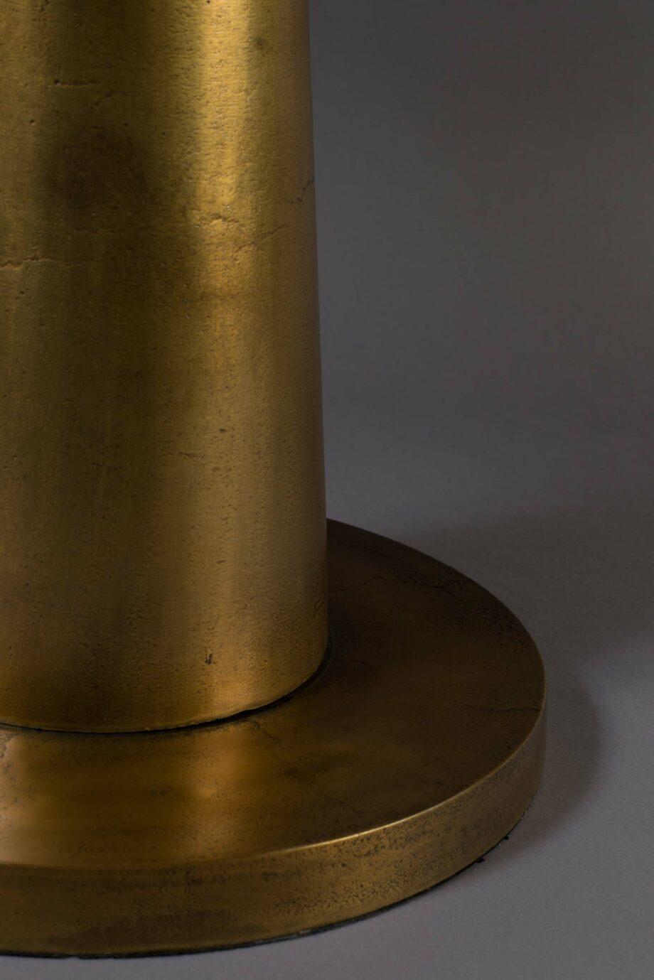 Brute bijzettafel Dutchbone brass 4
