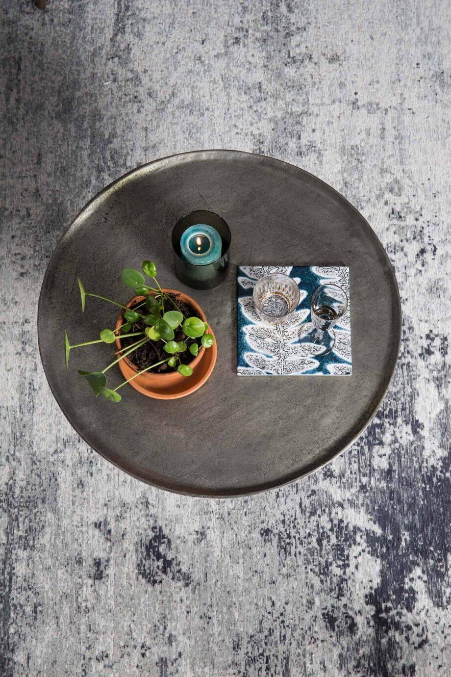 Caruso tapijt Dutchbone blauw 8