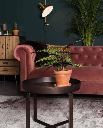 Caruso tapijt Dutchbone bruin 7