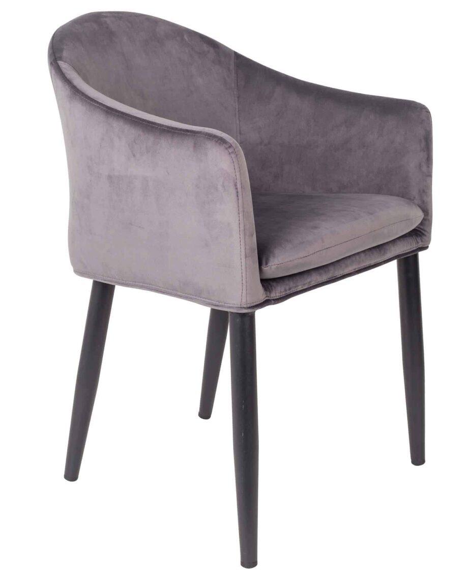 Catelyn fauteuil Designshopp grijs 1