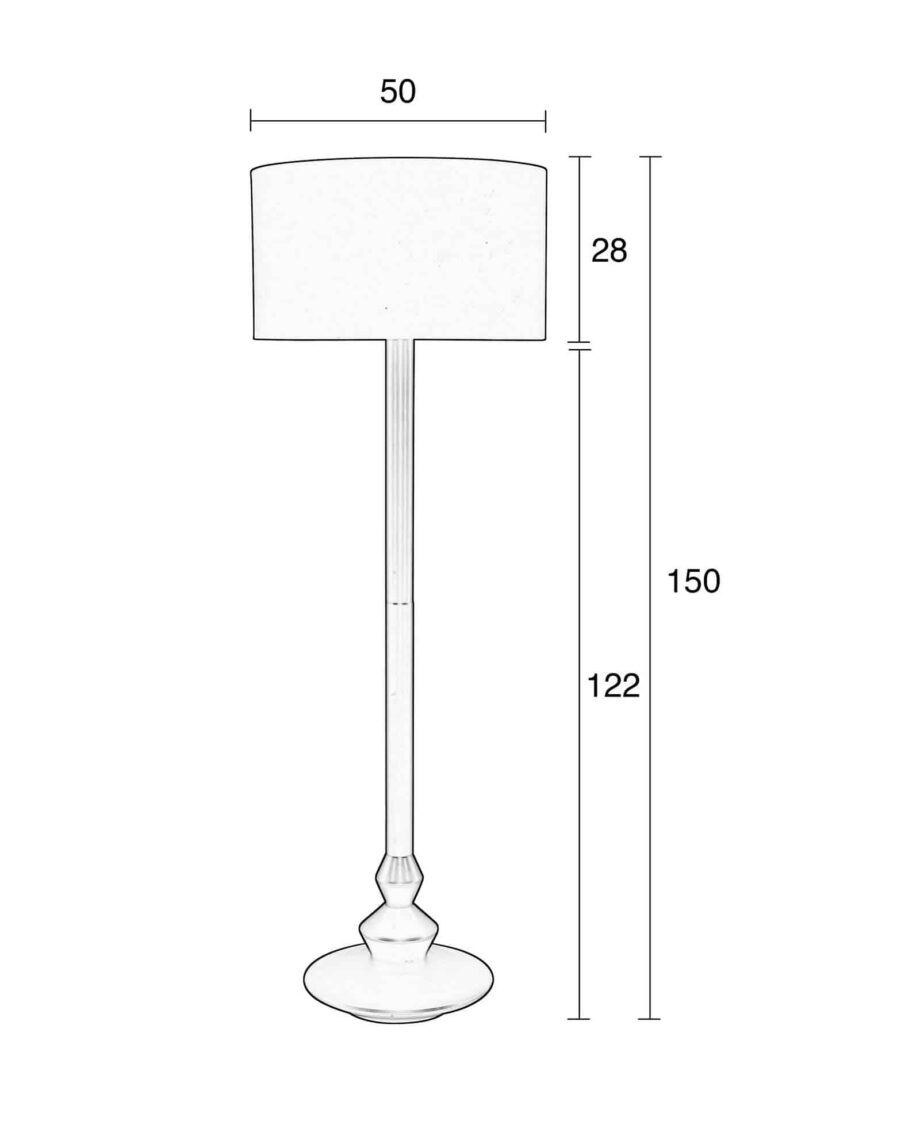 Finlay vloerlamp Zuiver wit 7
