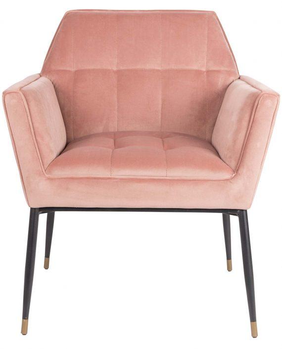 Kate fauteuil Dutchbone roze 2