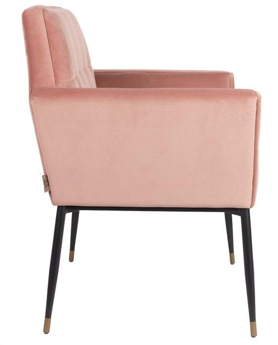 Kate fauteuil Dutchbone roze 3