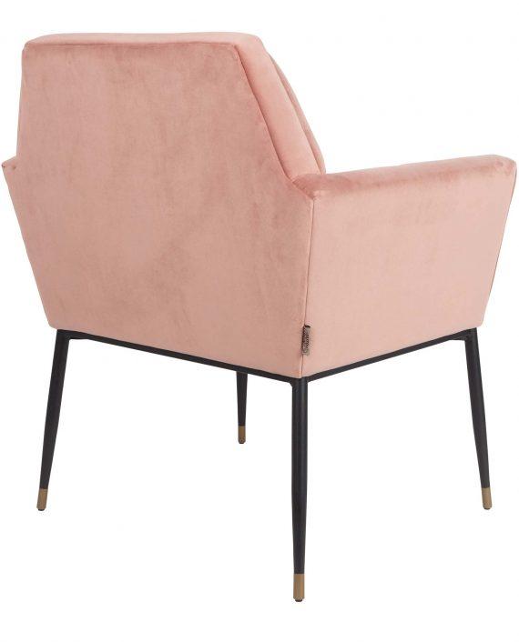 Kate fauteuil Dutchbone roze 4