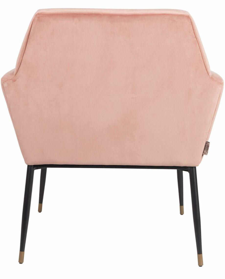 Kate fauteuil Dutchbone roze 5