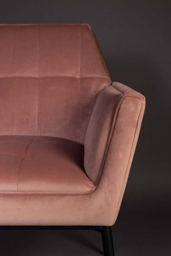 Kate fauteuil Dutchbone roze 6