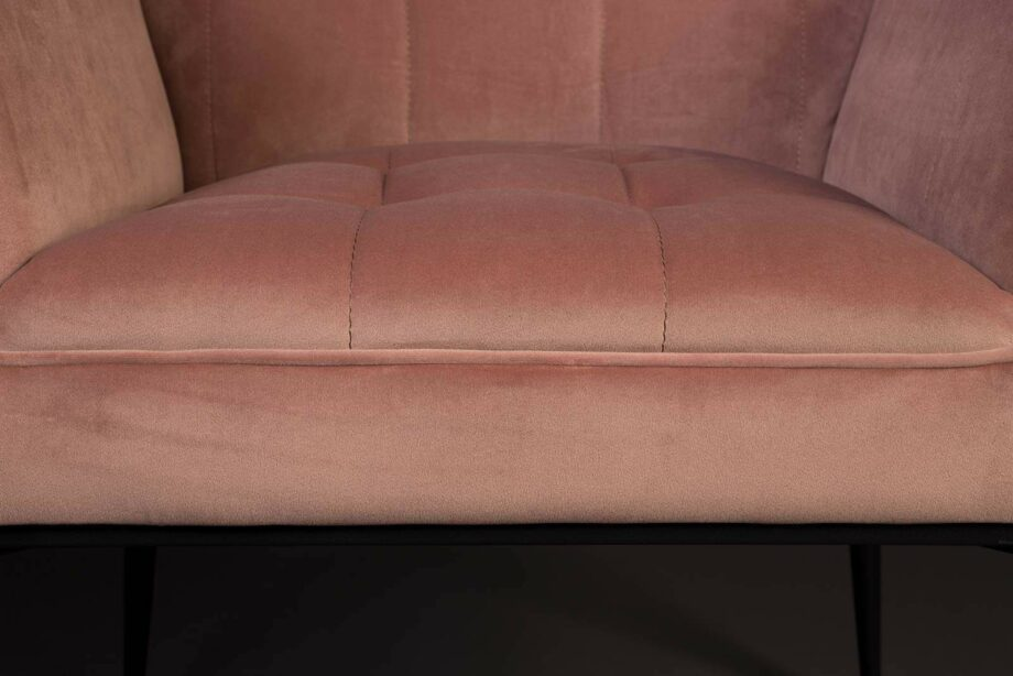 Kate fauteuil Dutchbone roze 7