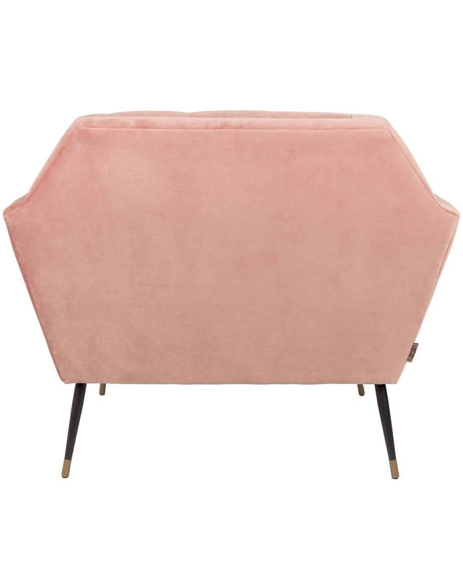 Kate loungestoel Dutchbone roze 5