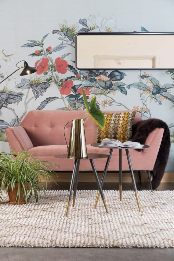 Kate sofa Dutchbone roze 9