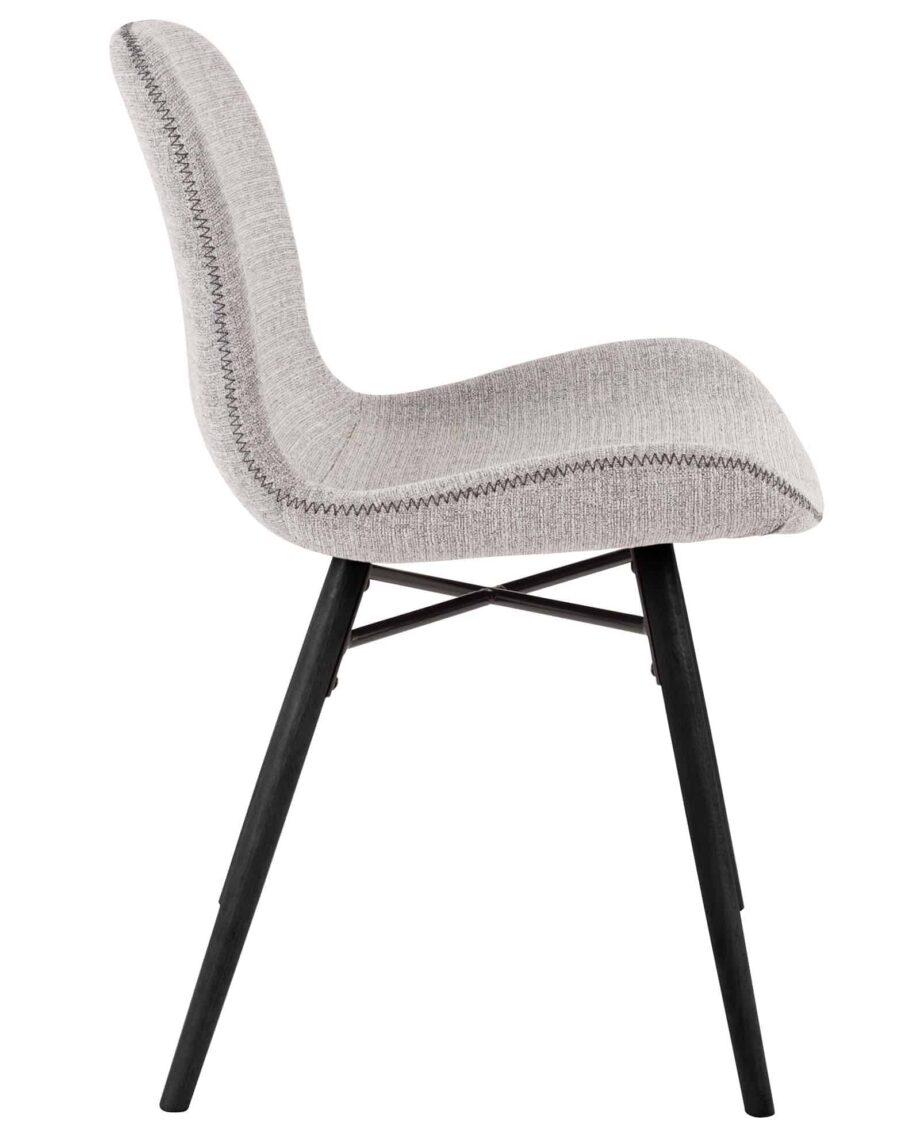 Lester stoel Designshopp lichtgrijs 3