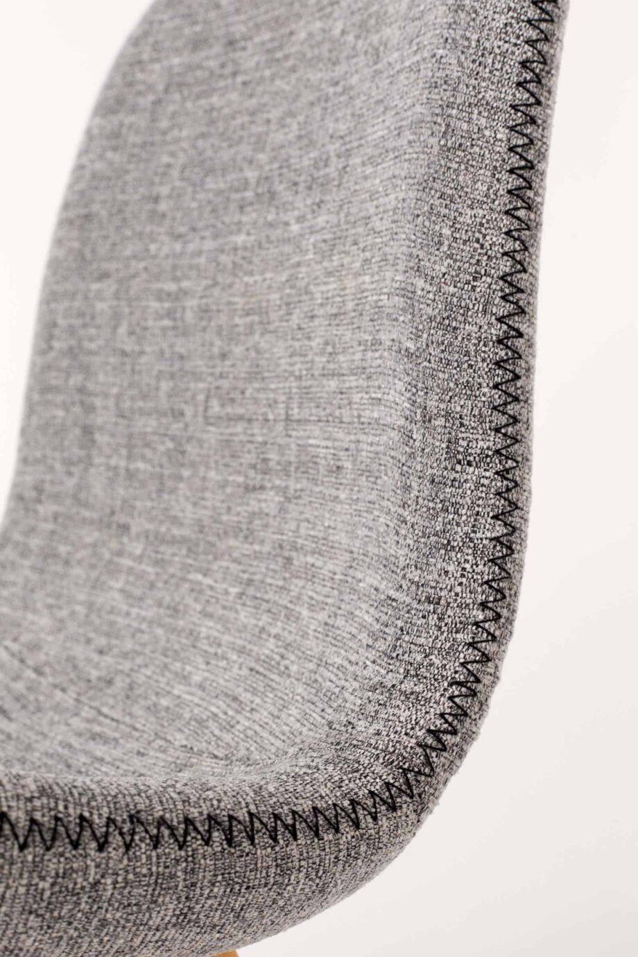 Lester stoel Designshopp lichtgrijs 7