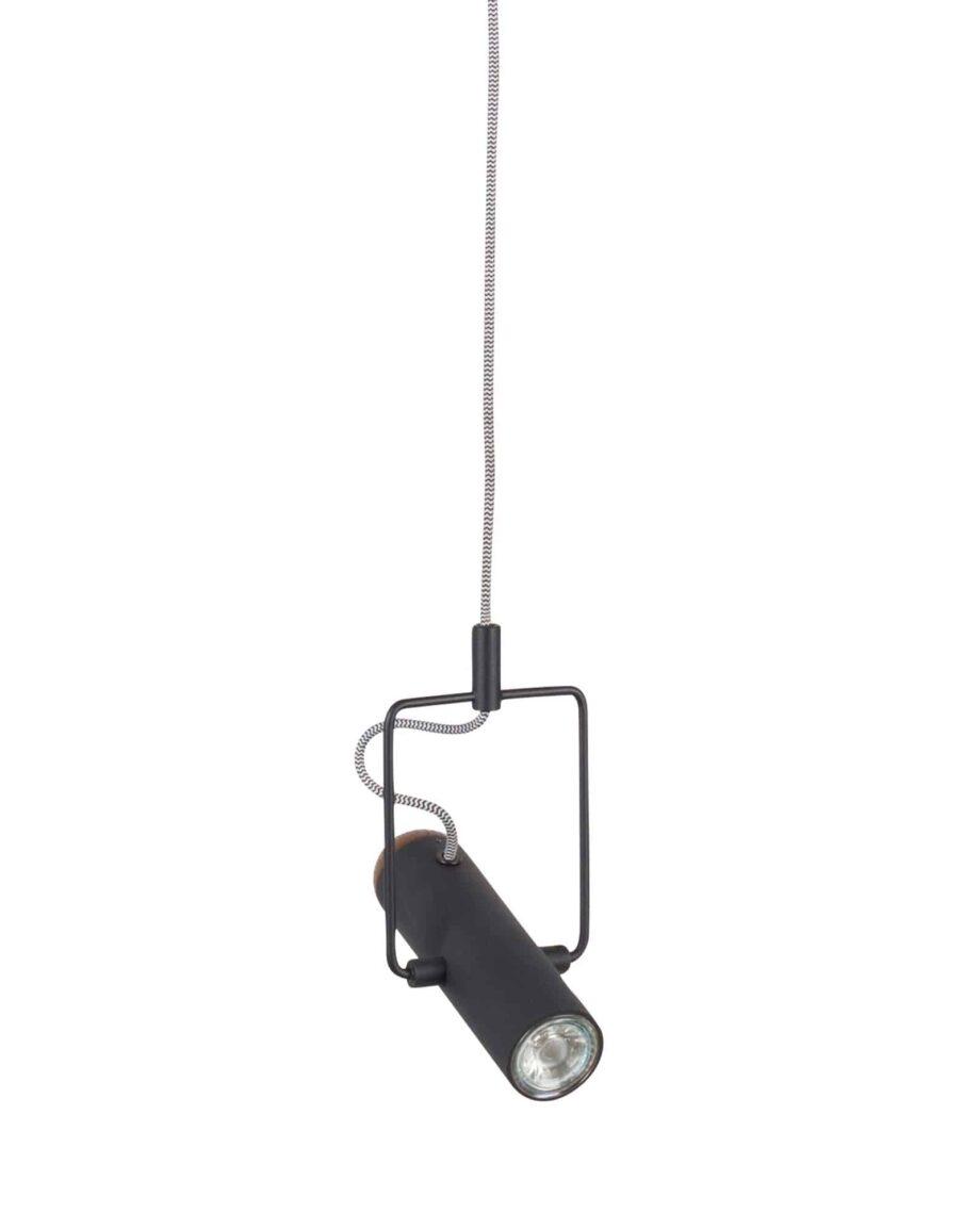 Marlon hanglamp Zuiver zwart 1