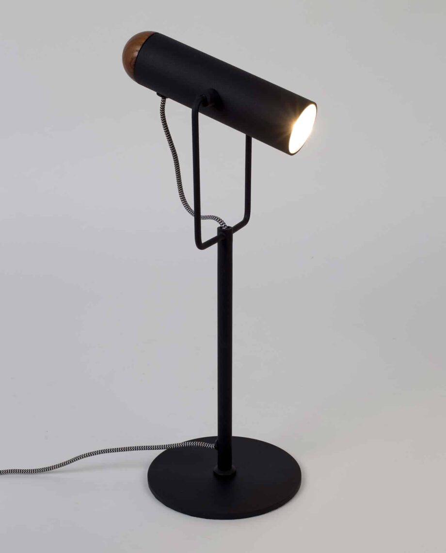 Marlon table lamp Zuiver black 2
