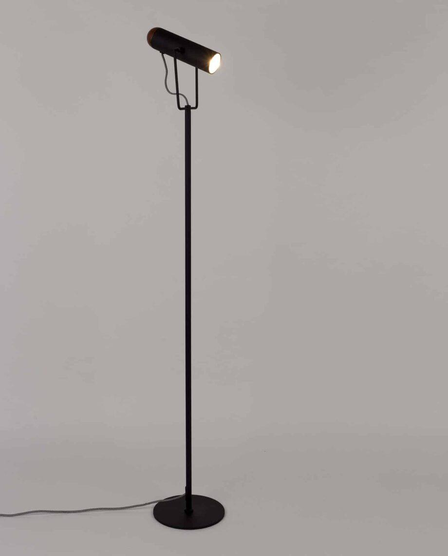 Marlon vloerlamp Zuiver zwart 2