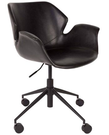 Nikki bureaustoel Zuiver zwart 1