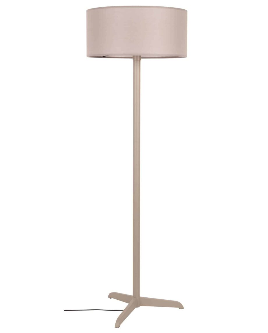 Shelby vloerlamp Zuiver taupe 1