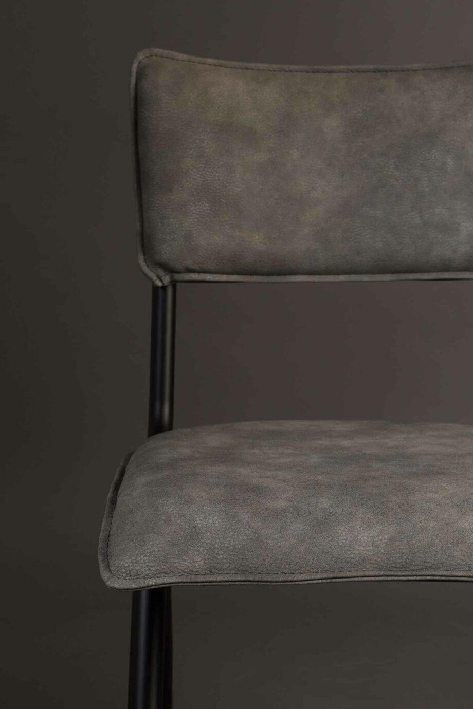 Willow stoel Dutchbone grijs 6
