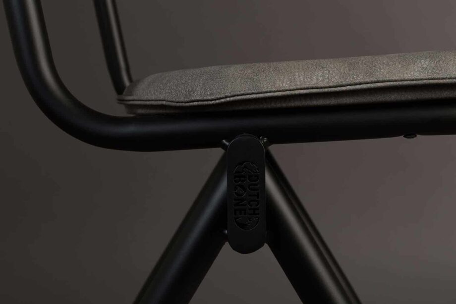 Willow stoel Dutchbone grijs 8